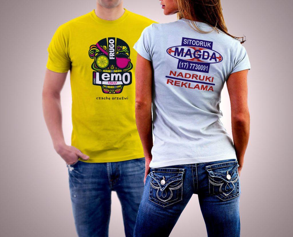 reklama na t shirt