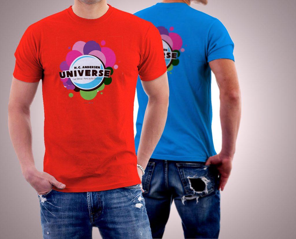 reklama na koszulkach